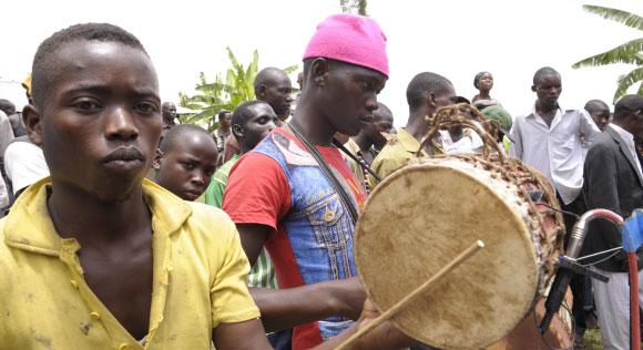 DAMDANDA KADODI PERFOMERS - Nyege Nyege music festival, Jinja Uganda