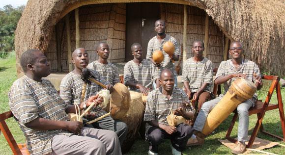 ALBERT SSEMPEKE & BUGANDA MUSIC ENSEMBLE - Nyege Nyege music festival, Jinja Uganda