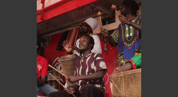 NILOTICA ENSEMBLE - Nyege Nyege music festival, Jinja Uganda